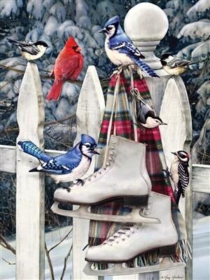 Birds With Skates 500 Pc