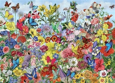 Butterfly Garden 1000 Pc