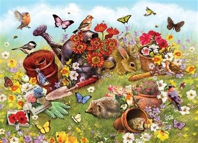 Garden Scene 350 Pc Family