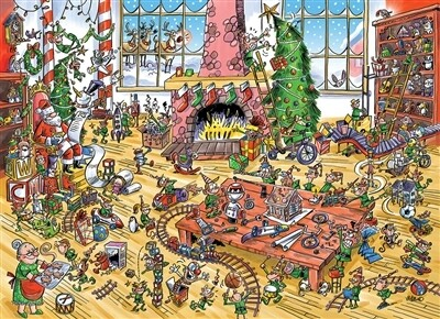 Elves At Work 1000 Pc