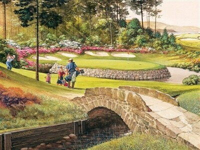 Golf Course 275 Pc Easy