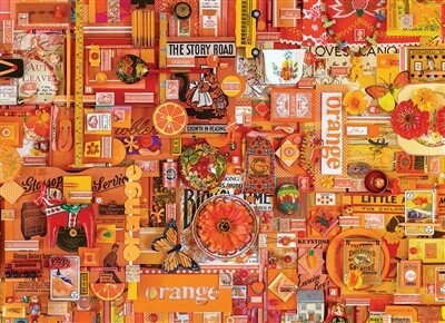 Orange 1000 Pc