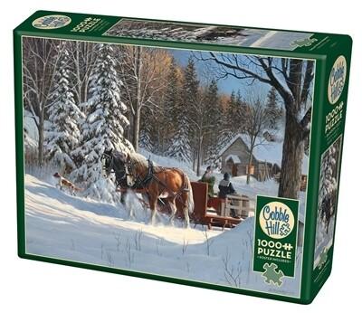 Sugar Shack Horses 1000 Pc
