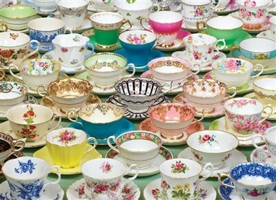 Teacups 1000 Pc