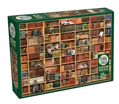 The Cat Library 1000 Pc