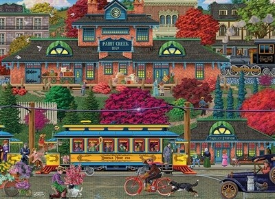 Trolley Station  500 Pc