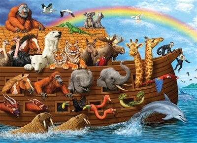 Voyage Of The Ark 350 Pc Family