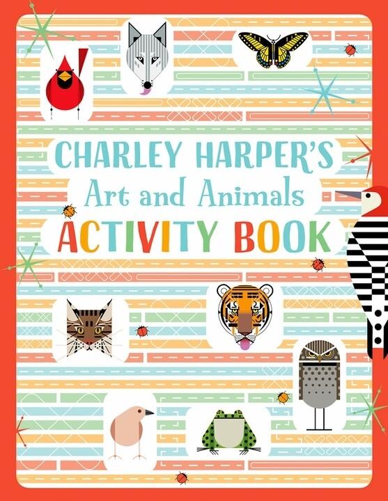 Art And Animals Activity Book