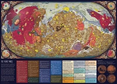 The Planet Mars 1000 Pc