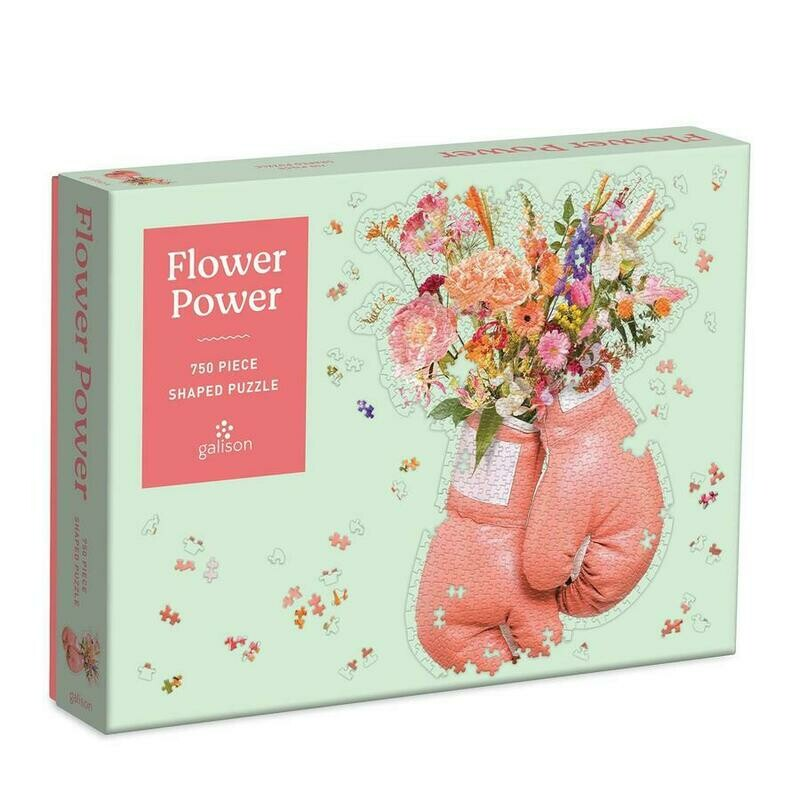 Flower Power 750 Pc Shaped