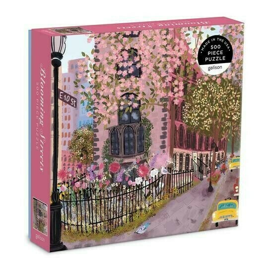 Blooming Streets 500 Pc