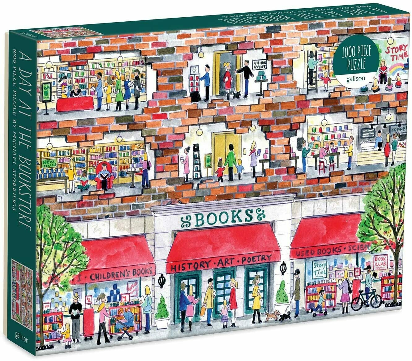 A Day At The Bookstore 1000 Pc