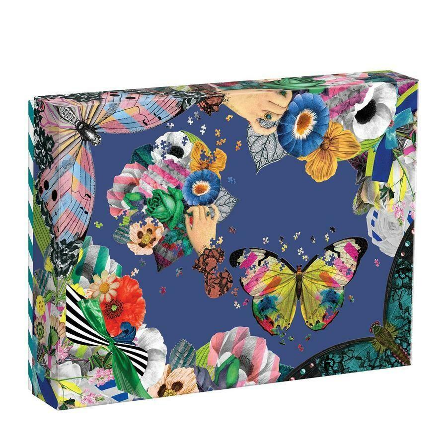 Christian Lacroix 850 Pc 2 Shapes Butterflies & Flowers