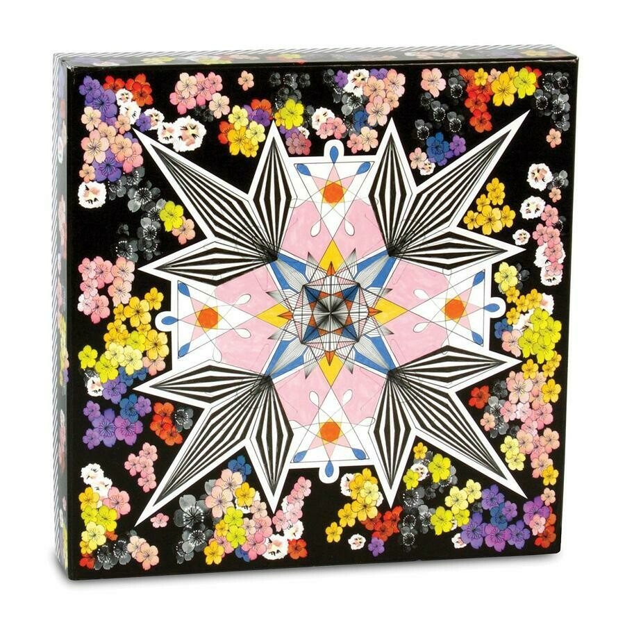 Christian Lacroix Flowers Gallery 2 Sided 500 Pc