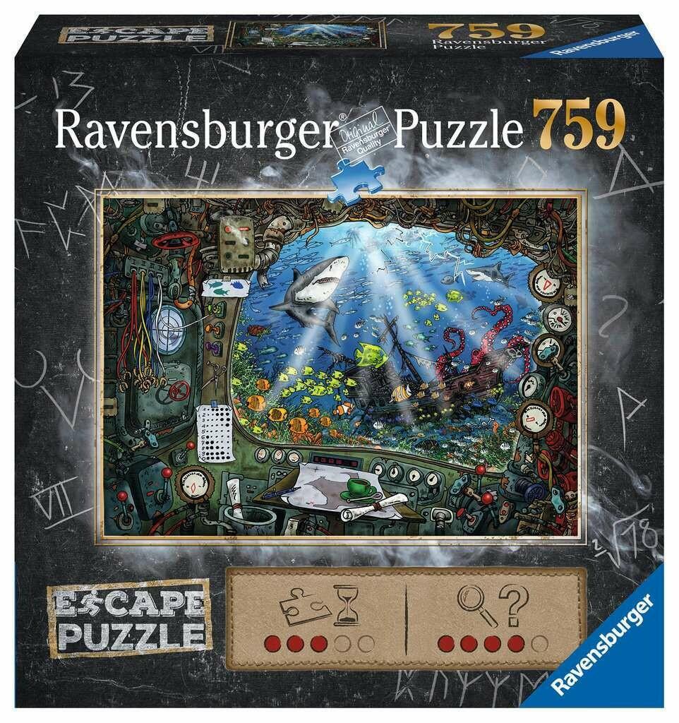 Escape Puzzle Submarine 759 Pc