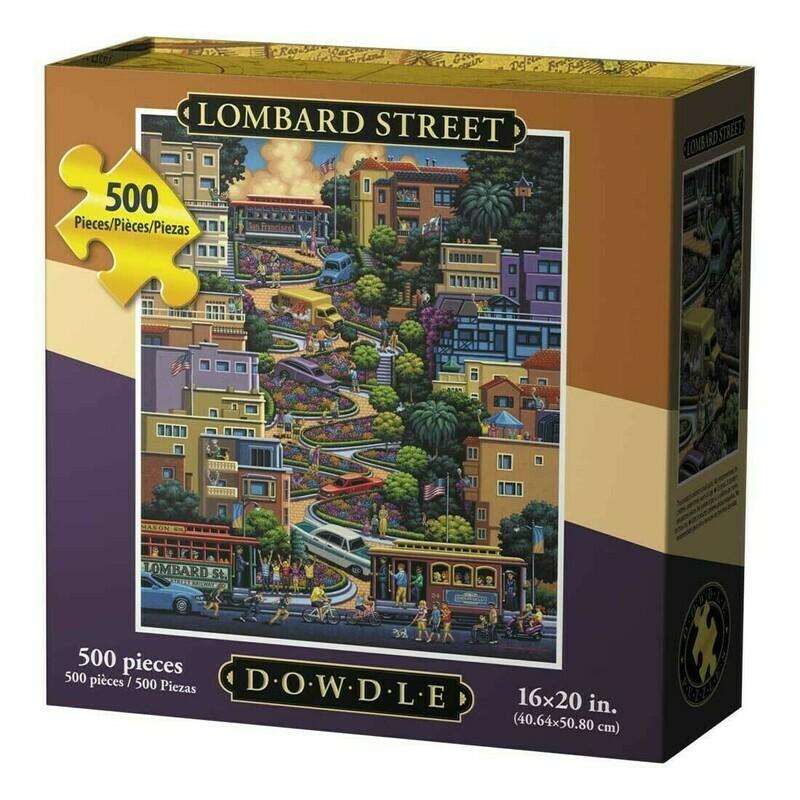 Lombard Street 500 Pc