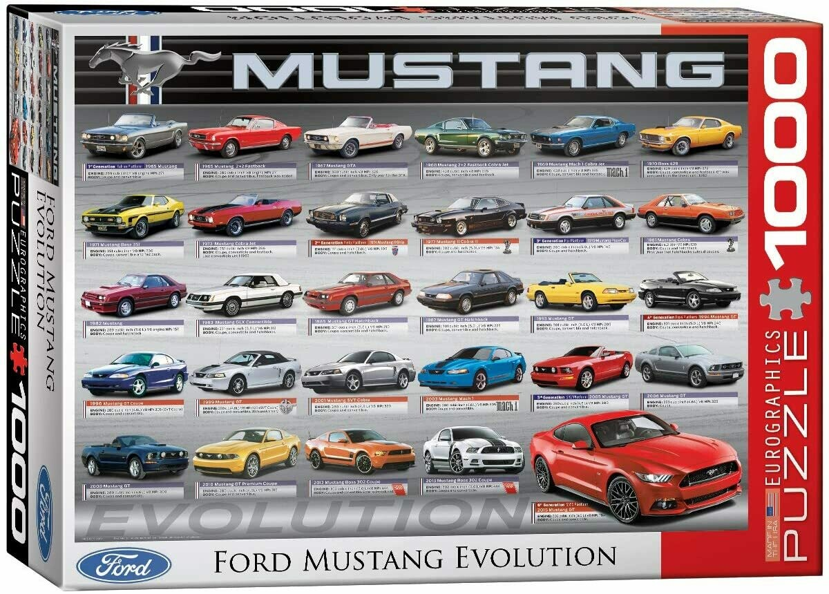 Ford Mustang 50 Years 1000 Pc