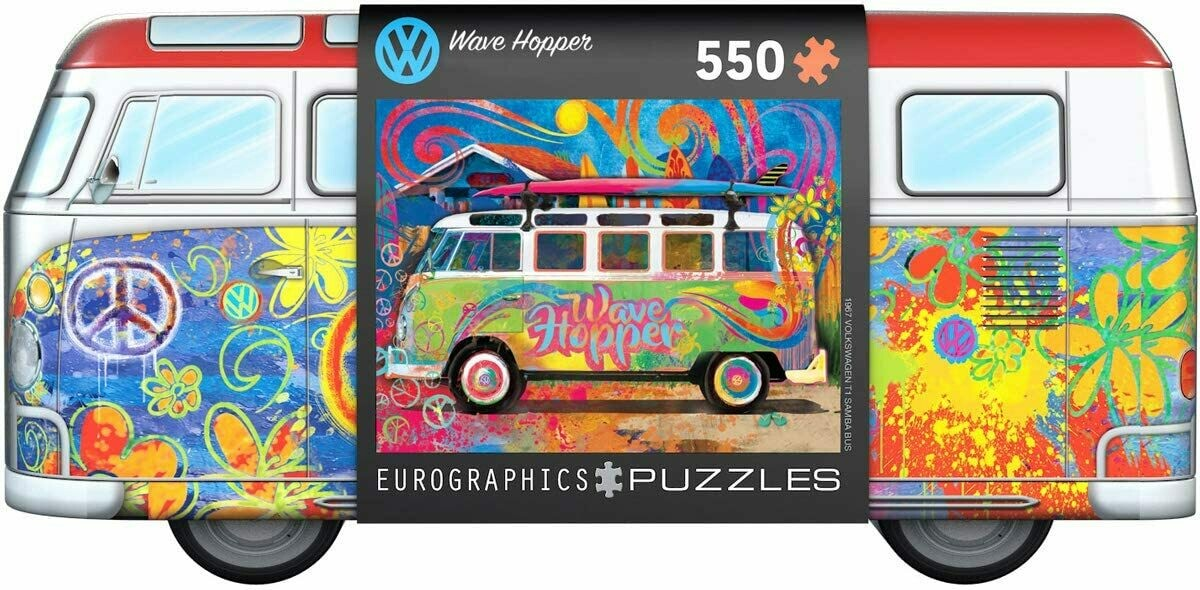 VW Bus 550 Pc In Tin