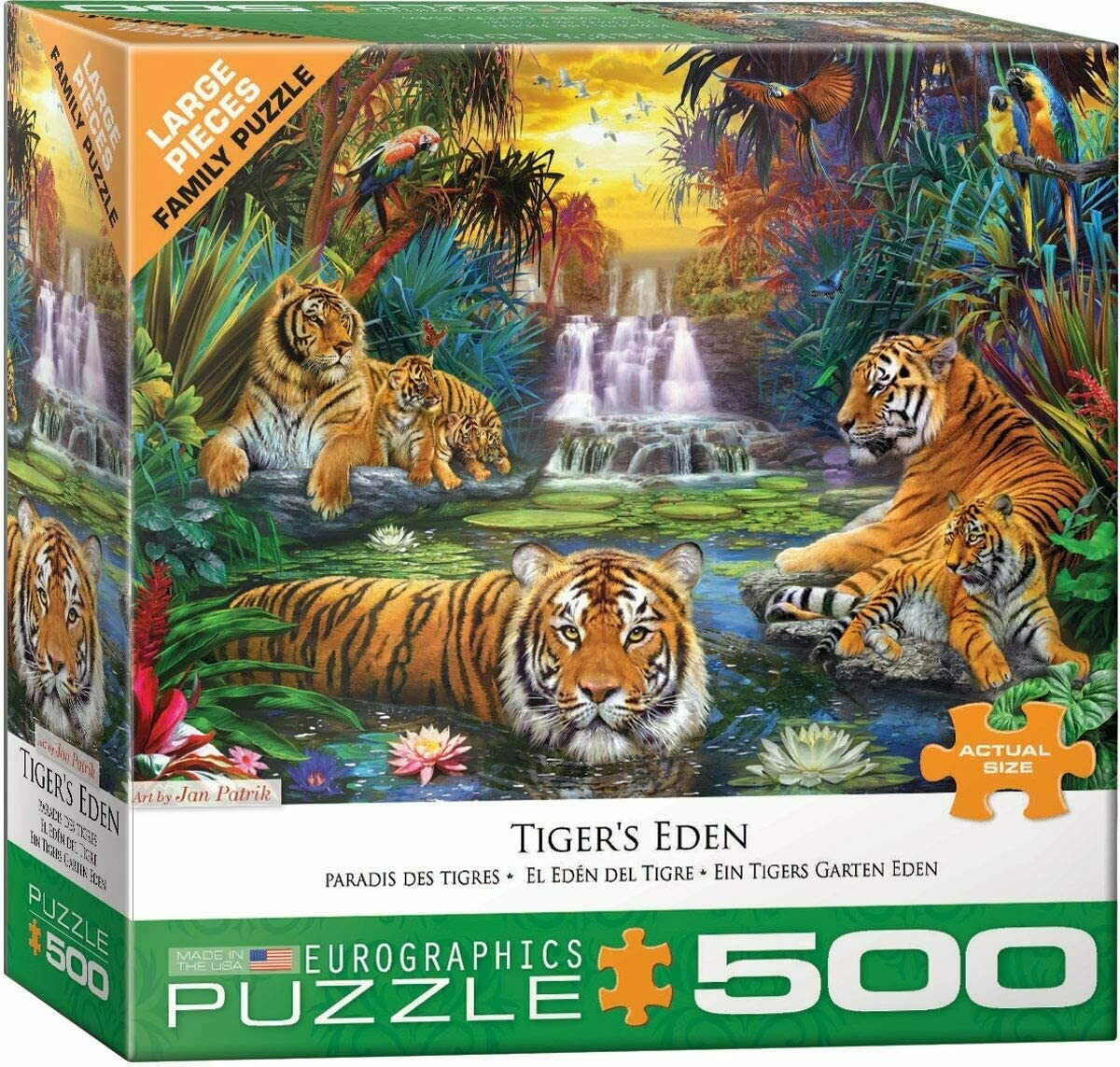 Tigers Eden 500 Pc
