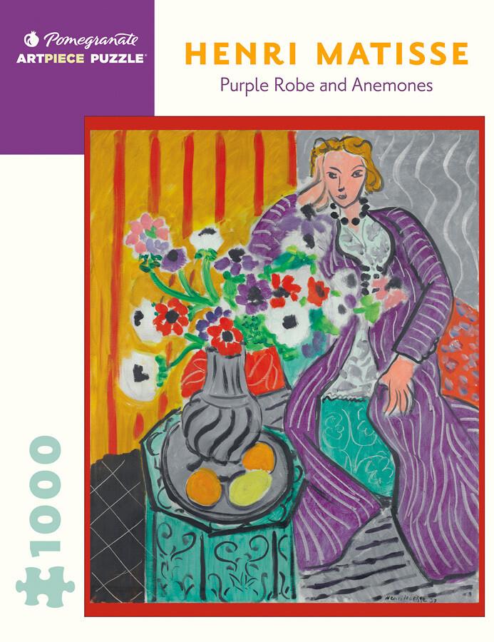 Purple Robe And Anemones 1000 Pc