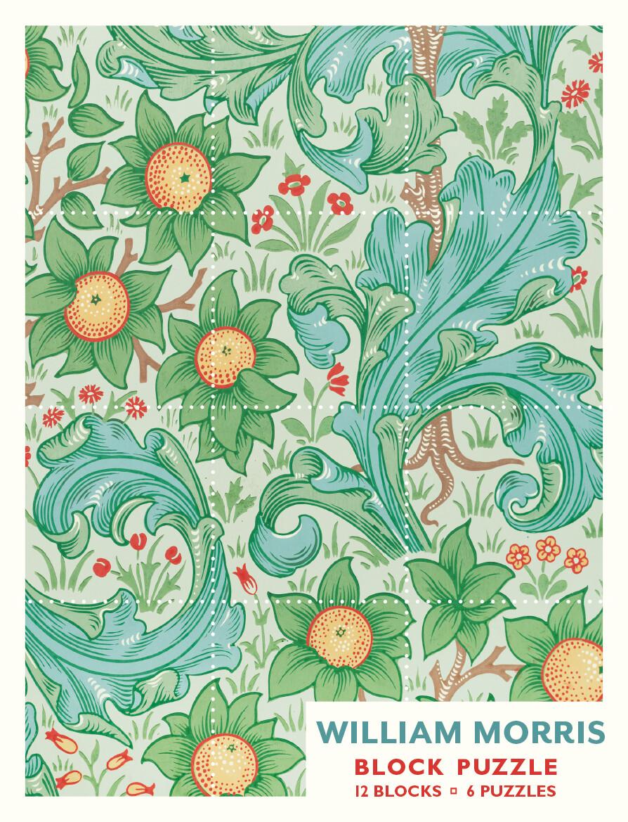 William Morris Wallpaper Patterns 12 Blocks