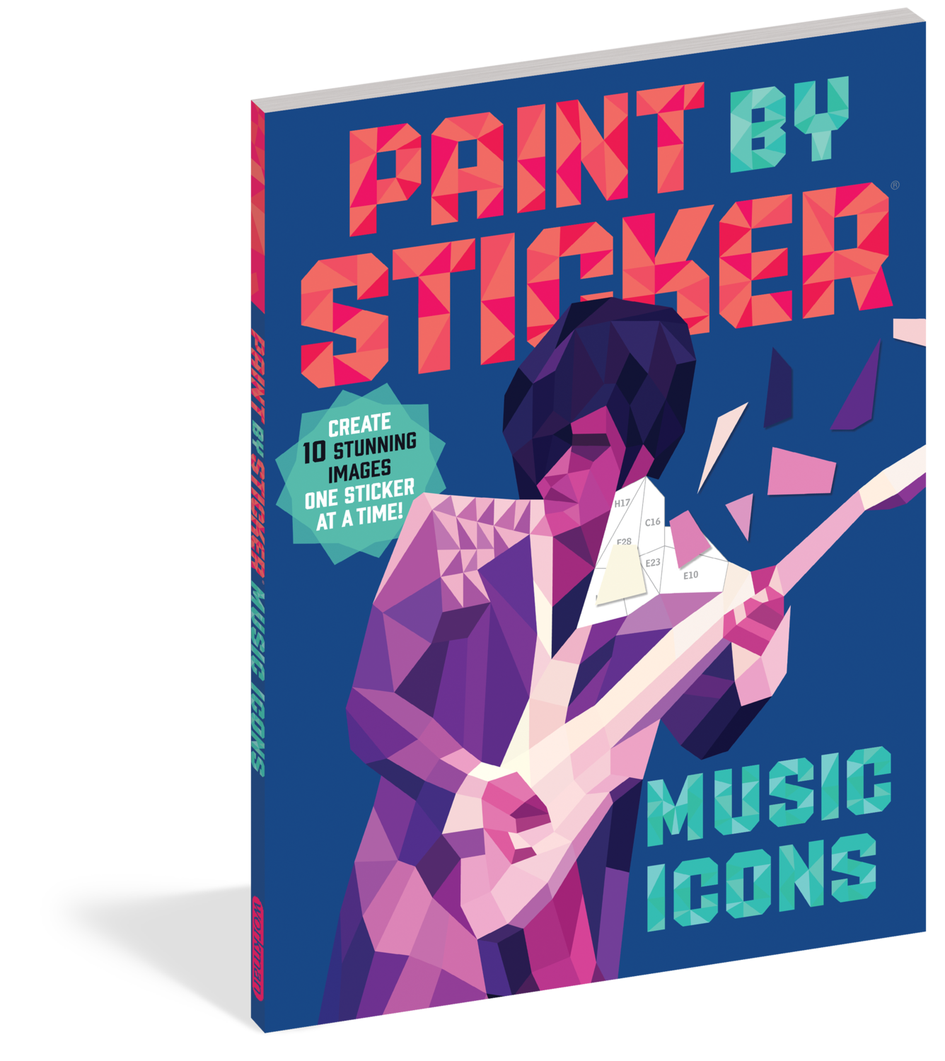 Paint By Stickers Music Icons