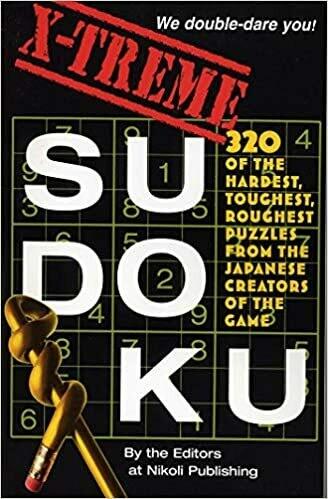 Extreme Sudoku Book