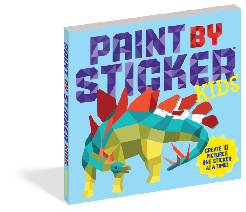 Paint By Sticker Kids The Original