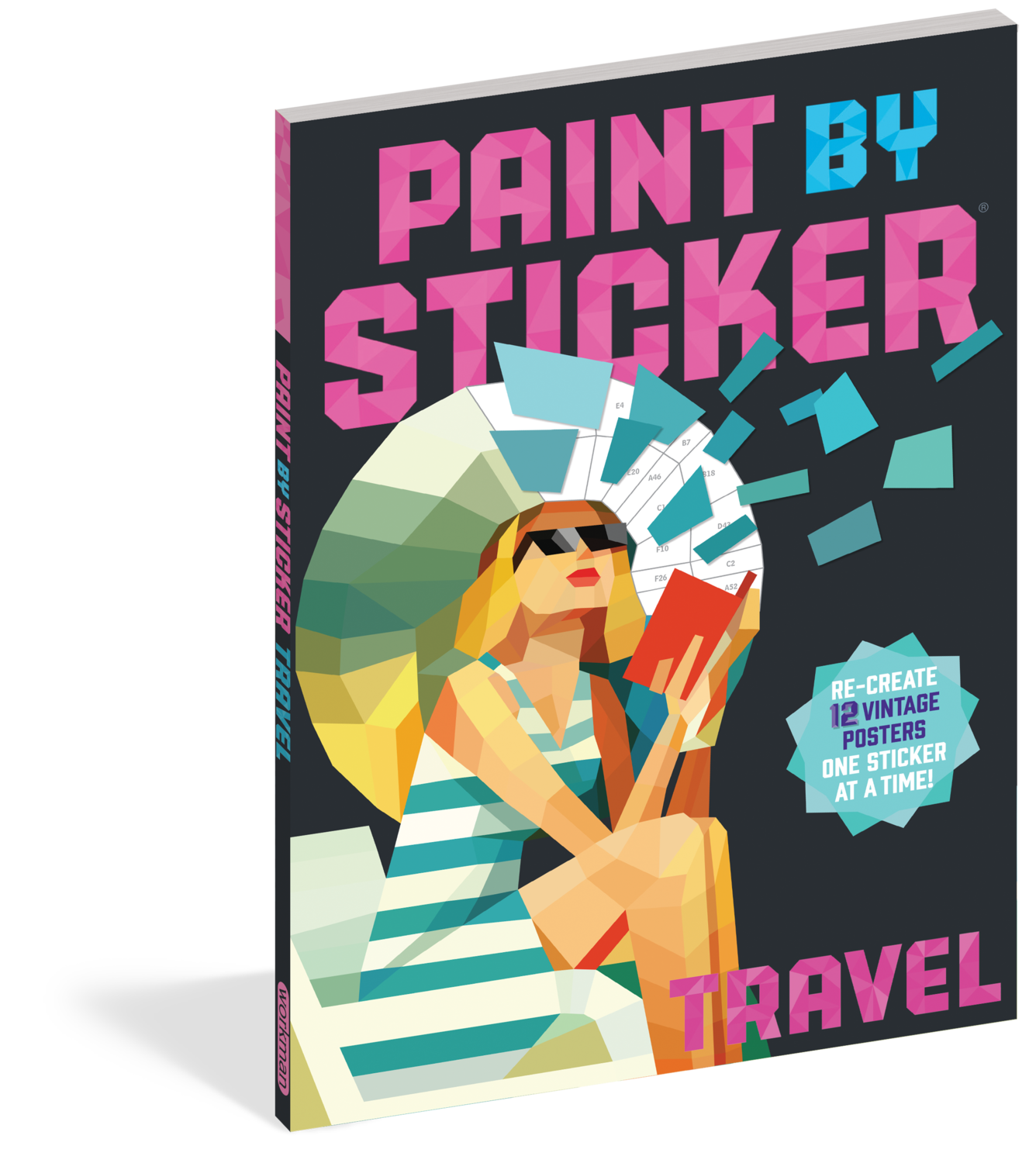 Paint By Sticker Travel
