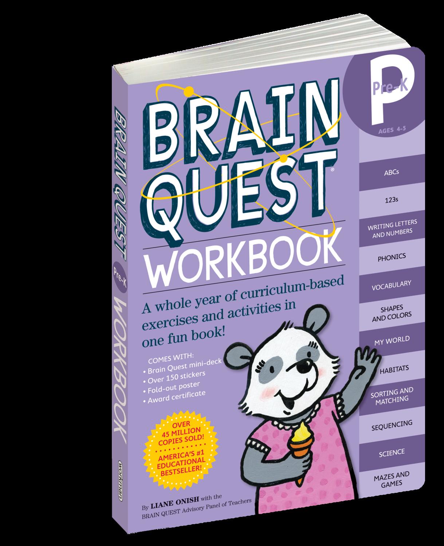 Brain Quest Workbook Pre- K