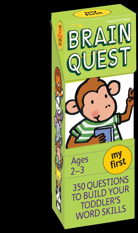 Brain Quest Cards Ages 2-3