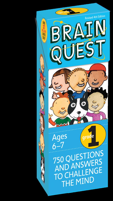 Brain Quest Cards Grade 1