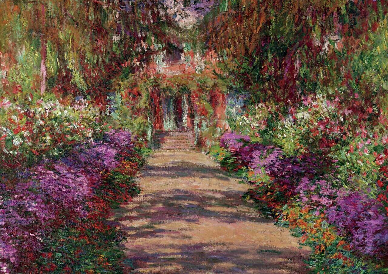 Monets Garden In Giverny 1000 Pc