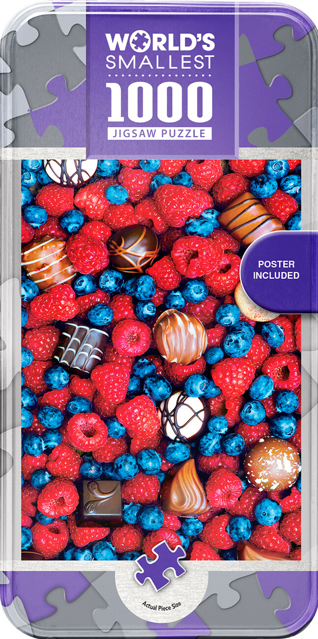 World's Smallest Sweet Delights 1000 Pc
