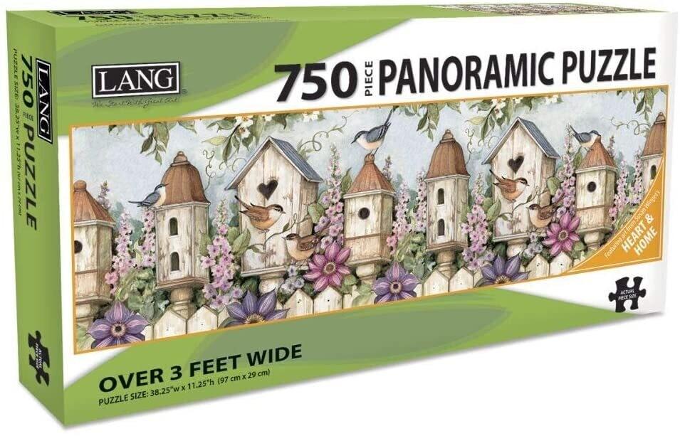 Birdhouse Garden 750 Pc Pano