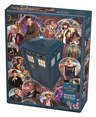 Dr Who The Doctors 1000 Pc