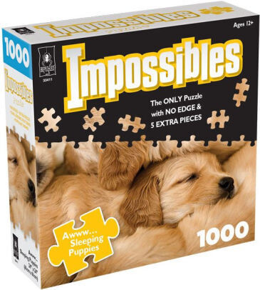 Impossibles Awww... Sleeping Puppies 1000 Pc