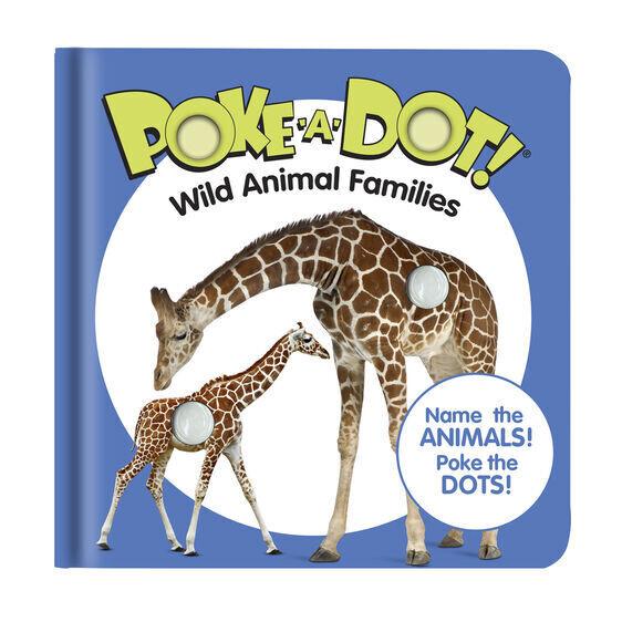 Poke A Dot Wild Animal Families Book