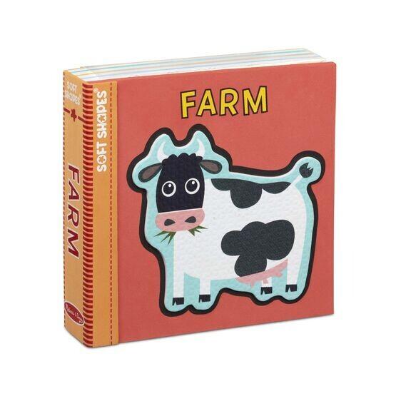 Soft Shapes Farm Bath Puzzle Book