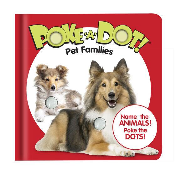 Poke A Dot Pet Families Book