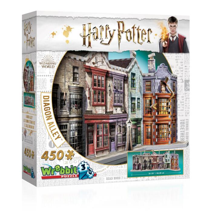 3D Harry Potter Diagon Alley 450 Pc