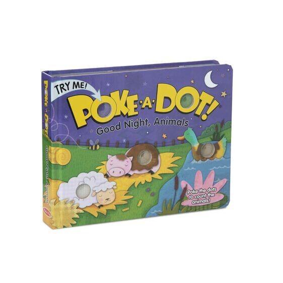 Poke A Dot Good Night Animals Book