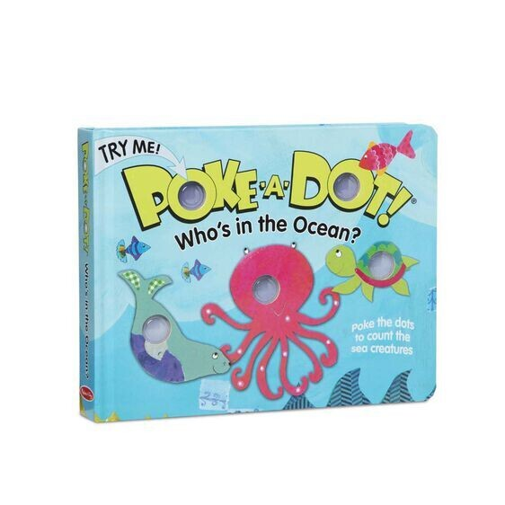 Poke A Dot Who's In The Ocean Book