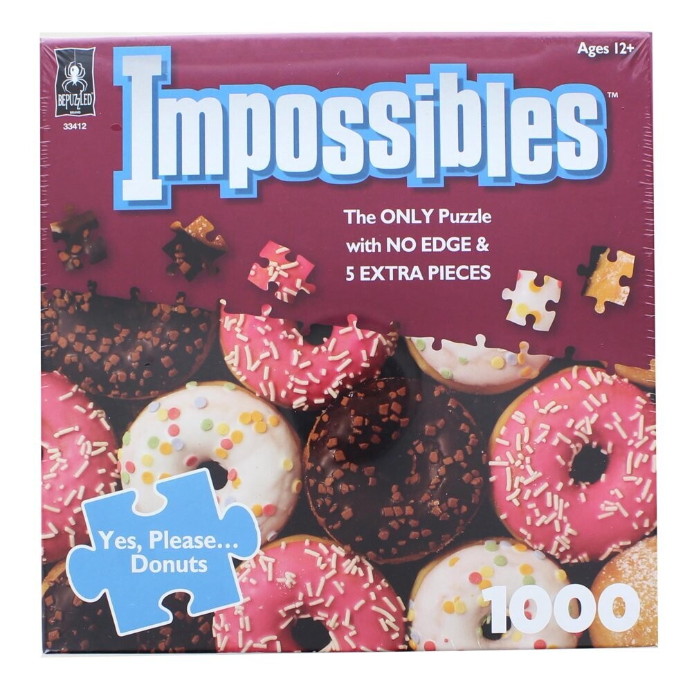 Impossibles Yes, Please... Donuts 1000 Pc