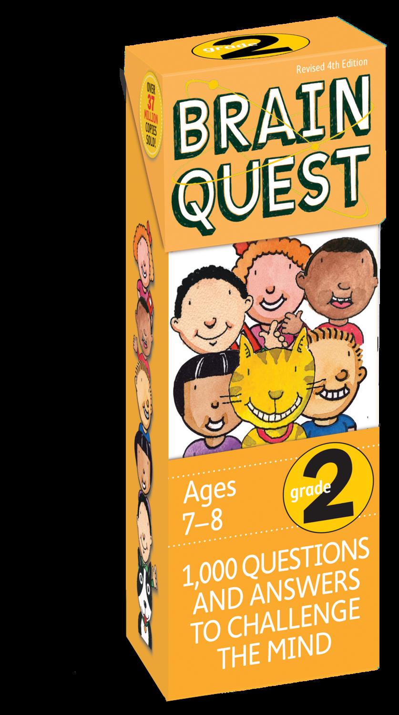 Brain Quest Cards Grade 2