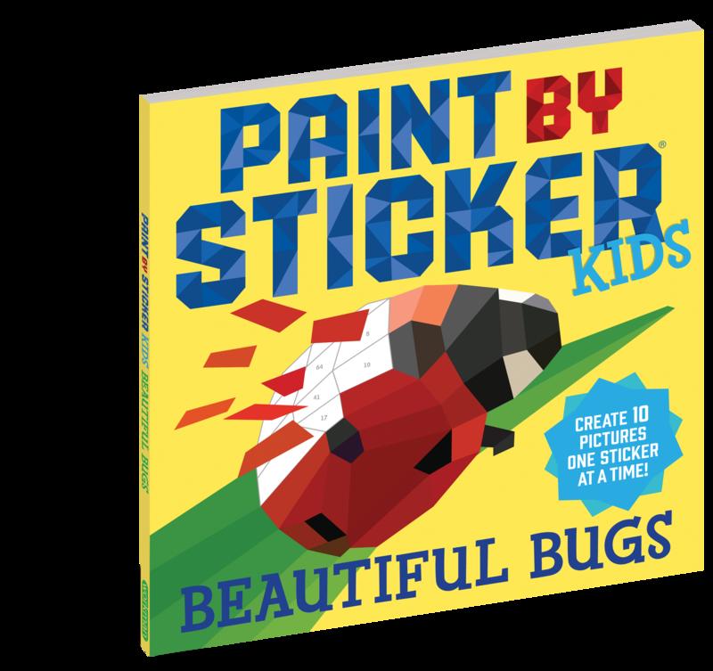 Kids Paint By Sticker Beautiful Bugs