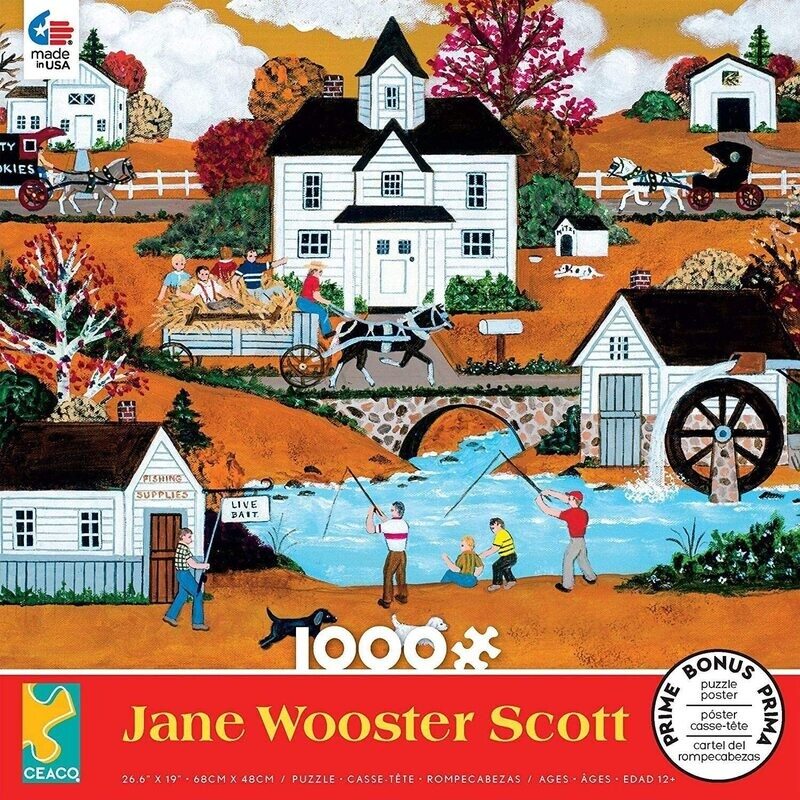 Awesome Autumn Jane Wooster Scott 1000 Pc