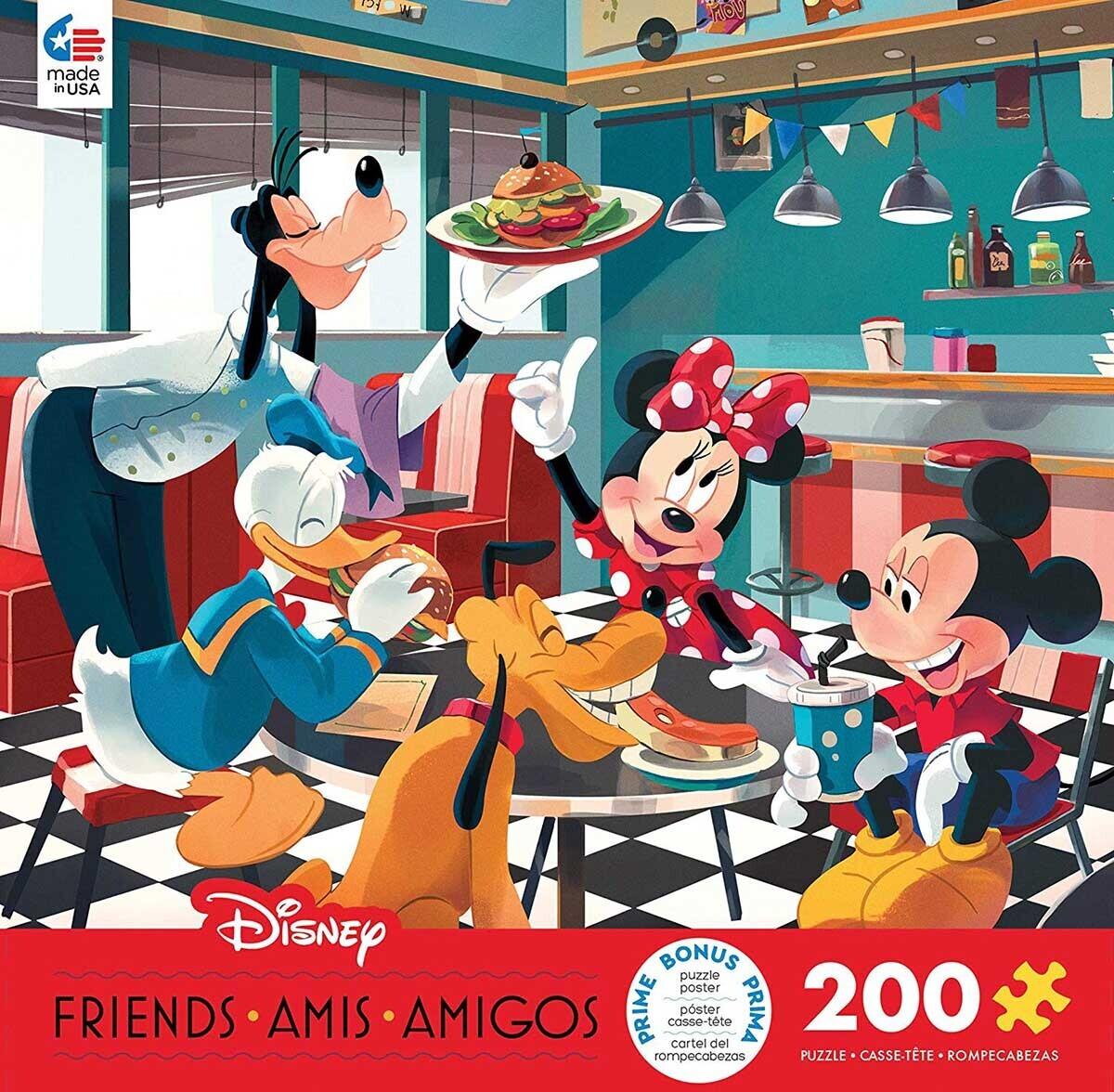 Disney Diner 200 Pc