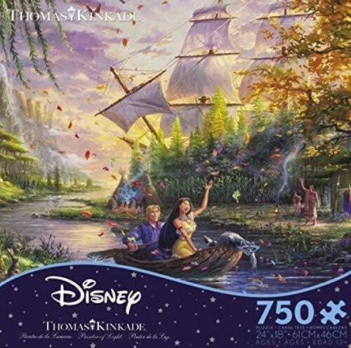 Disney Kinkade Pocahontas 750 Pc