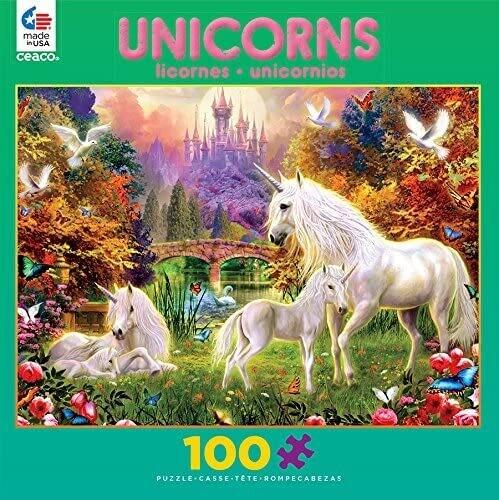 Unicorns Castle 100 Pc